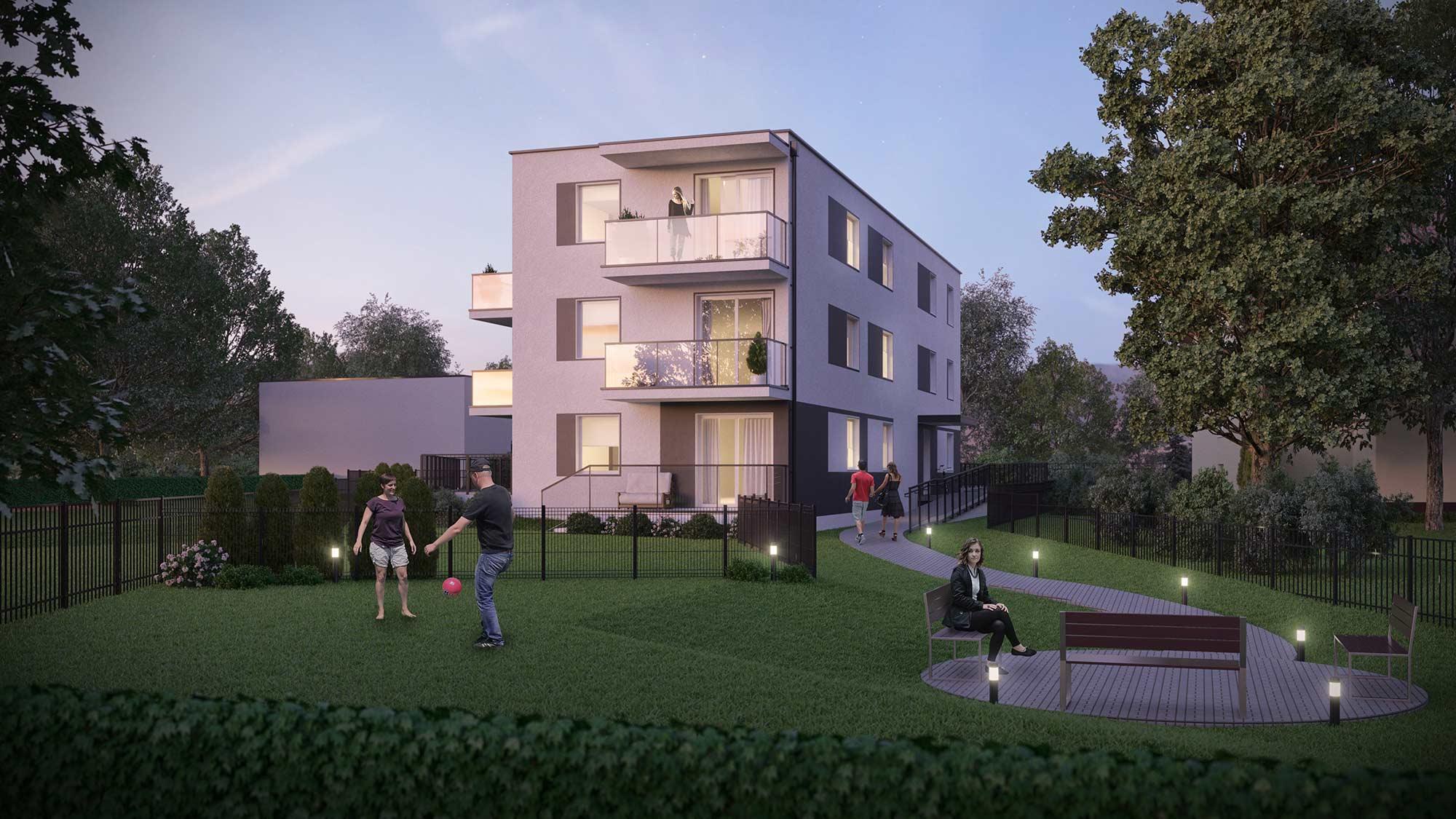 Olqus - mieszkania w zielonej, rekreacyjnej okolicy